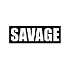 Savage Black by GlennStevens