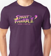 Street Fighter II Hyper Fighting - Title Screen T-Shirt