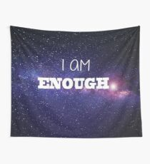I AM Enough - The Milky Way Wall Tapestry