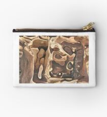Manipulated Wood Studio Pouch