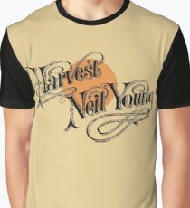 Neil Young Harvest Graphic T-Shirt