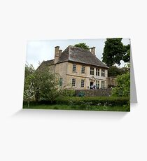 Snowshill Manor and Gardens. Greeting Card