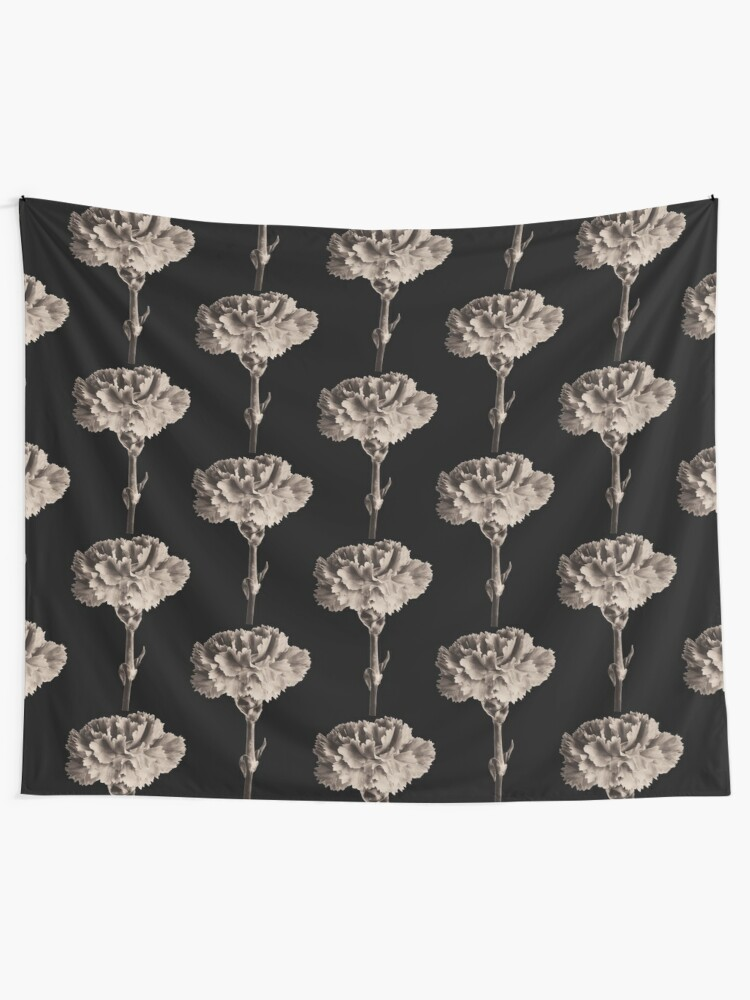 Alternate view of Antique Carnation Tapestry