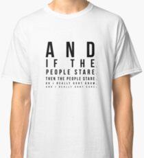 The Smiths - Hand In Glove Lyrics in Eye Test Design Classic T-Shirt