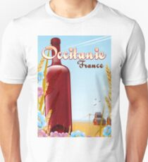 Occitanie France farming landscape poster  T-Shirt