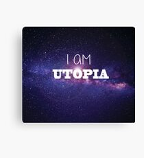 I AM Utopia - The Milky Way Canvas Print