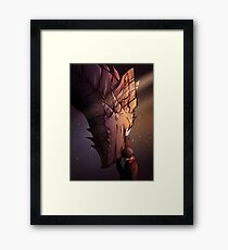 The last Dragon Framed Print