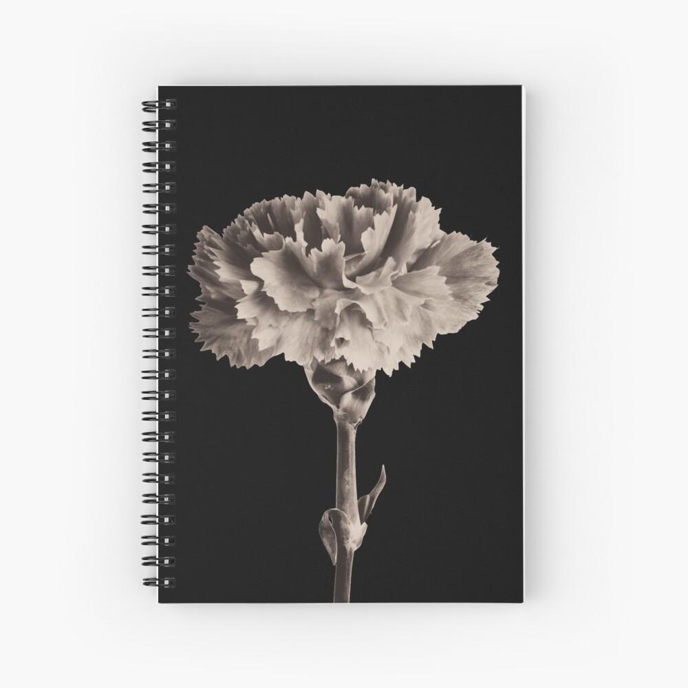 Antique Carnation Spiral Notebook