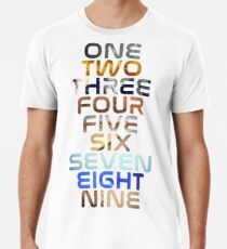 Planeten Männer Premium T-Shirts