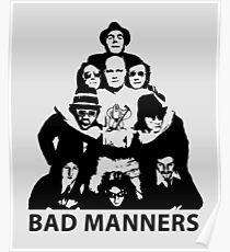 2Tone Ska Bad Manners Poster