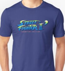 Street Fighter II Champion Edition - Title Screen T-Shirt