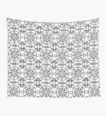 Monochrome One Wall Tapestry