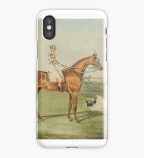 After John Frederick Herring the Elder Winning Horses of the Great St. Leger  iPhone Case/Skin