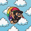 Rainbow Pride Daddy by Gilles Bone