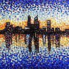Perth City Sunrise by Alan Hogan