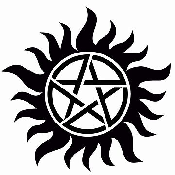 Supernatural Anti-Possession Symbol by rayman3345