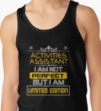ACTIVITIES ASSISTANT Tank Top