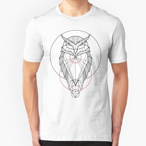 Oam Owl Slim Fit T-Shirt