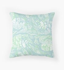 Floating on water Throw Pillow