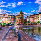 Portofino Bay Art by photorolandi
