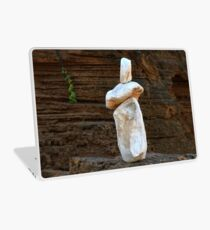 0366 Rock sculpture Laptop Skin