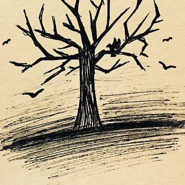 Crow Tree by ChaoticDraconic