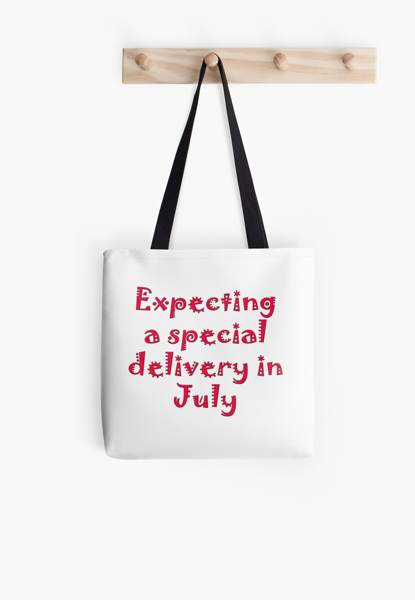 Expecting a Special Delivery in July by Mechala Matthews