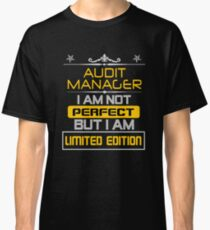 audit manager Classic T-Shirt