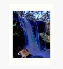Wentworth Water Falls  , Blue Mtns , OZ Art Print