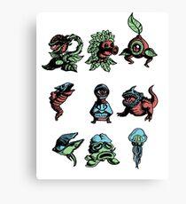 zelda enemies from oot Canvas Print