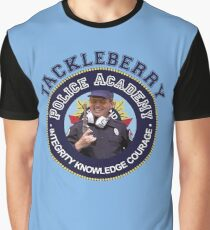 TACKLEBERRY - POLICE ACADEMY MOVIE  Graphic T-Shirt