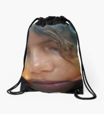 Skyler at Sunset Drawstring Bag