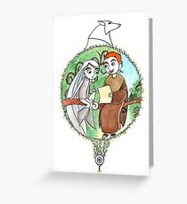 Brendan & Aisling Greeting Card