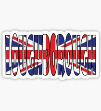 Loughborough Sticker
