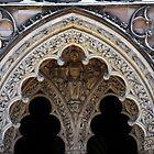 Doorway Arch, Lichfield Cathedral. by John Dalkin