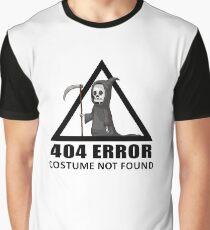 404 Error - COSTUME NOT FOUND Graphic T-Shirt