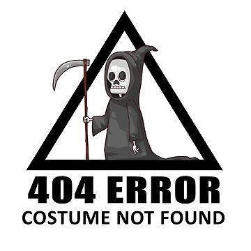 404 Error - COSTUME NOT FOUND by blackbase