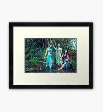 Sirena - The Sirens V Framed Print