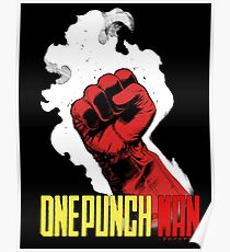 One Punch Man (Color) Poster