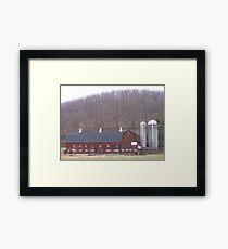 Poultry Barn  Framed Print