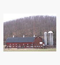 Poultry Barn  Photographic Print