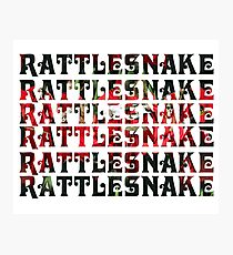 RATTLESNAKE RATTLESNAKE RATTLESNAKE King Gizzard And The Lizard Wizard Photographic Print