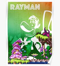 [PLATFORM GAMES!] Rayman - Dream Forest Poster