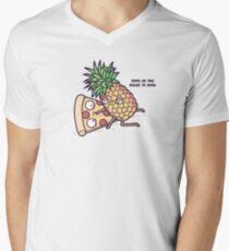 Forbidden love Men's V-Neck T-Shirt