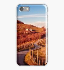 Sunset in the vineyards of Rosazzo iPhone Case/Skin
