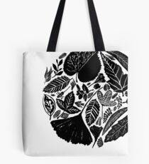 The magical world of nature, Linocut art Tote Bag