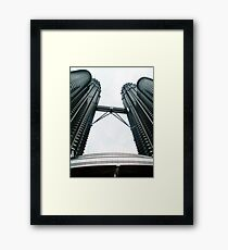 KL Petronas Towers Framed Print