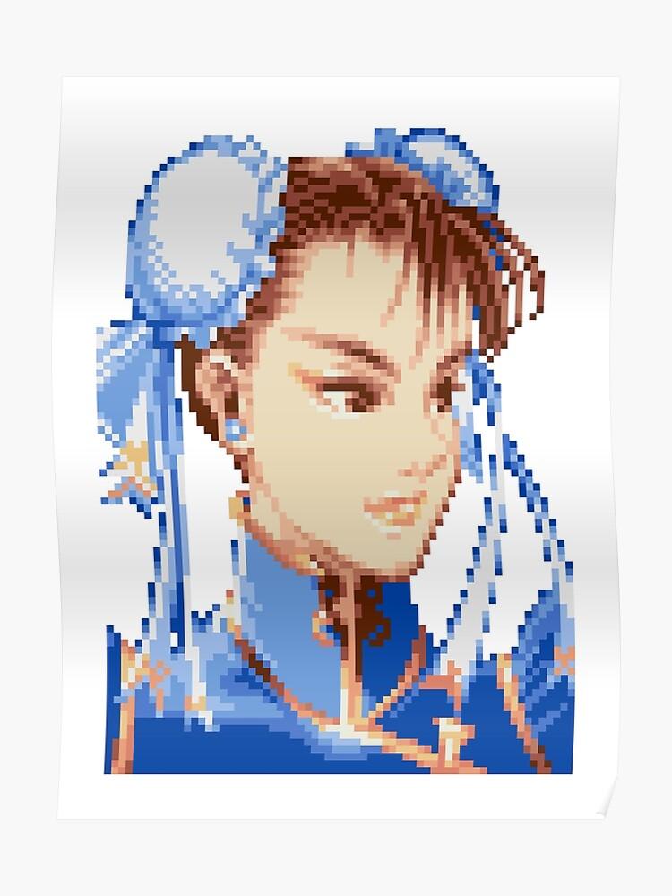 Super Street Fighter II - Chun Li   Poster