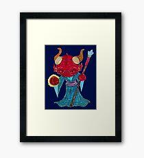 tibs, dragonborn sorcerer Framed Print