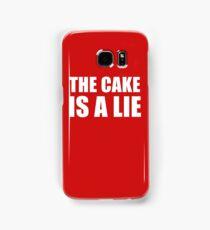 __the cake is a lie Samsung Galaxy Case/Skin